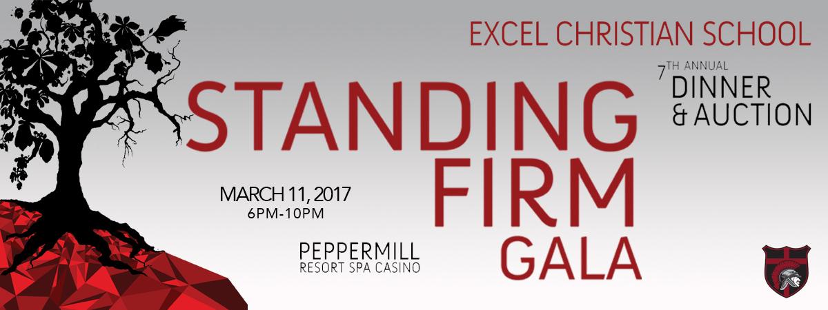 Standing Firm Gala